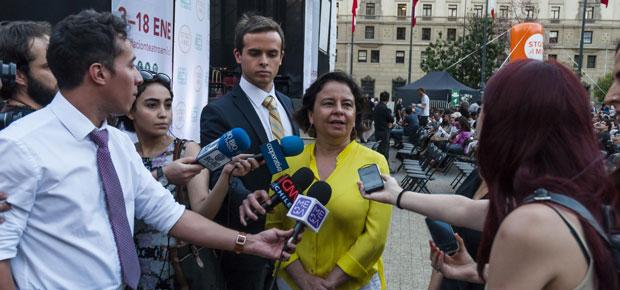 Ministra Barattini destacó uso de espacios públicos de Santiago a Mil en concierto que reunió a más de tres mil personas