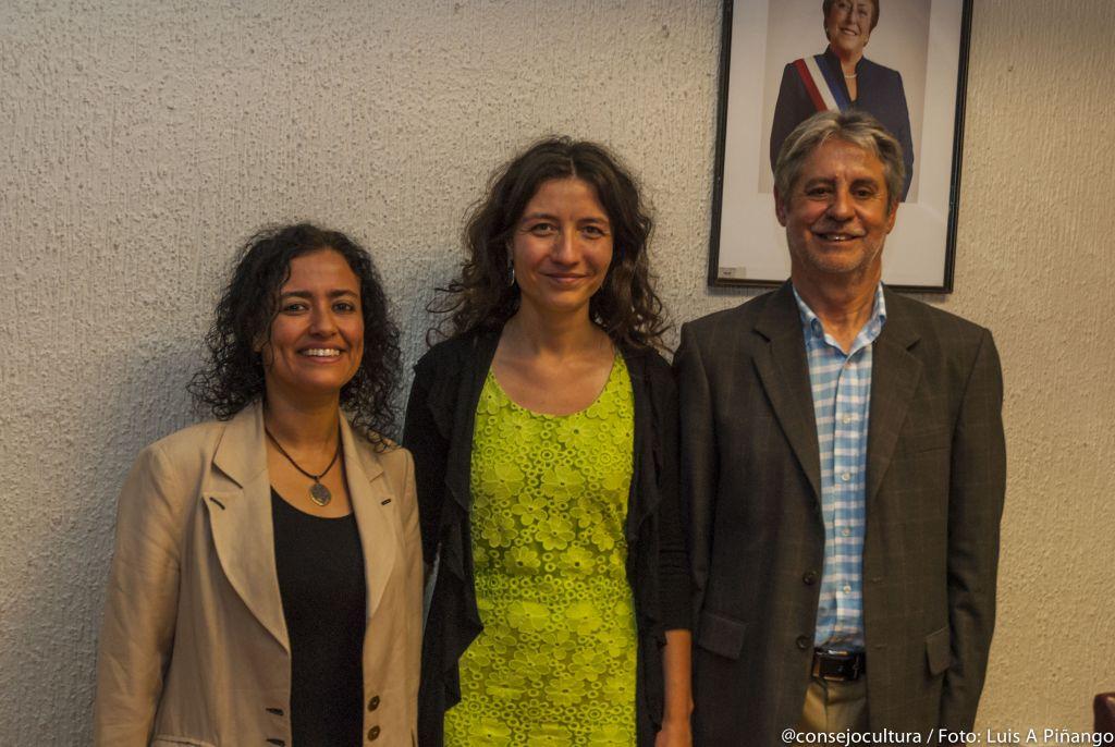 Ministra (s) de Cultura dialoga sobre educación pública con Subsecretaria Quiroga