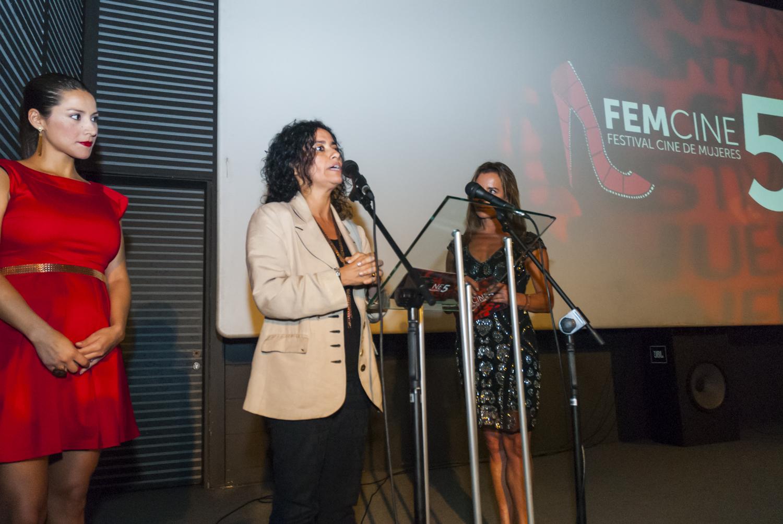 Subdirectora de Cultura inauguró la quinta versión de FEMCINE