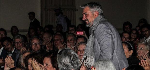 Ministro de Cultura Ernesto Ottone en el Día del Teatro
