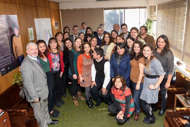 Ministro Ottone se reunió con Intendente Bravo y funcionarios del Consejo de la Cultura de Valparaíso