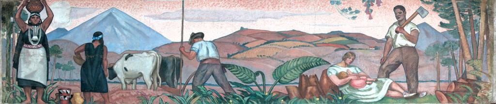 La Agricultura, de Laureano Guevara.