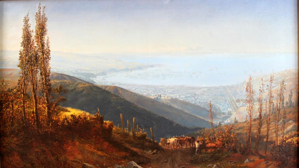 Panorámica de Valparaíso, de Thomas Somerscales.