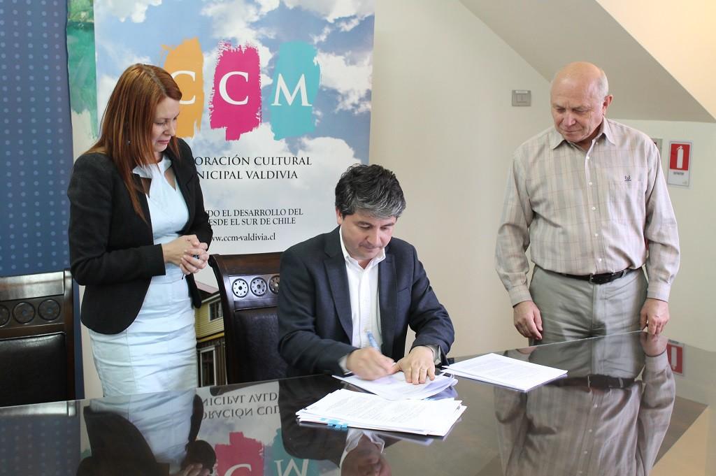 El centro de la Corporación Cultural Municipal de Valdivia fue uno de los beneficiarios del Fondo de Apoyo a la Infraestructura Cultural Pública, que el Consejo de la Cultura entregará a 15 espacios de todo el país.