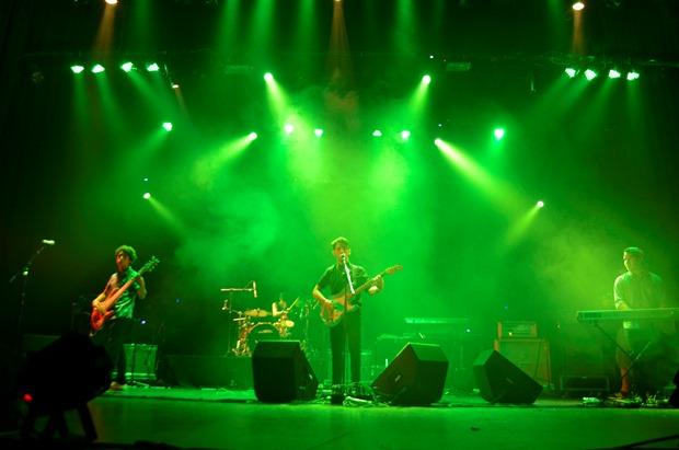 El grupo antofagastino Los Prims en Rockódromo 2016