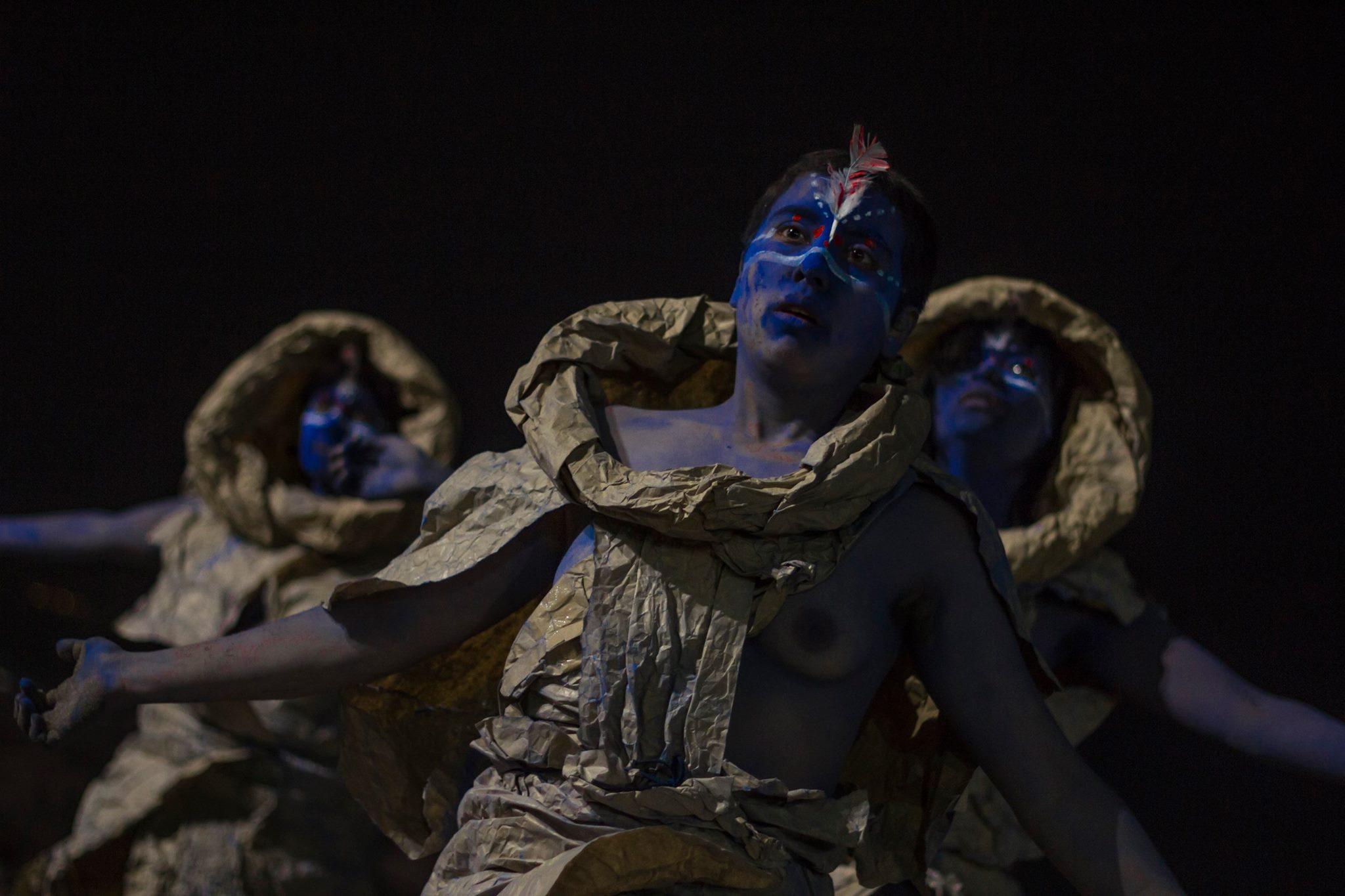 Danza Butoh - Foto: José Quiroga (Iquique)
