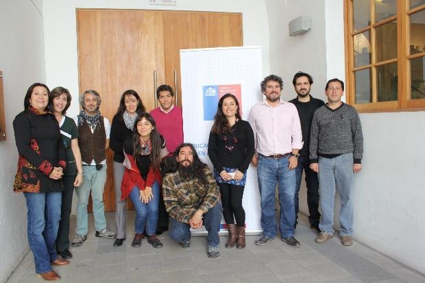 Docentes y artistas de talleres Acciona fueron parte de la jornada