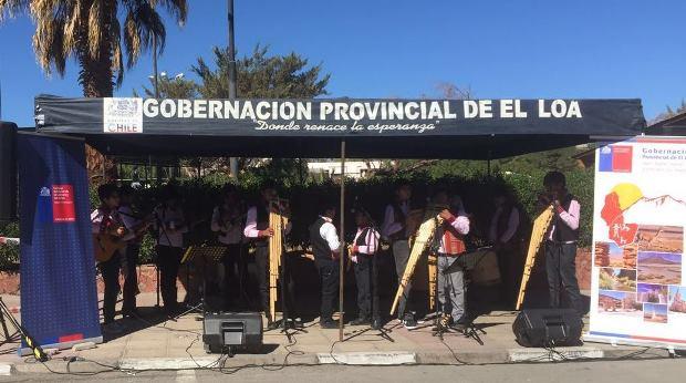 La agrupación multicultural Tomás Paniri fue parte de la actividad