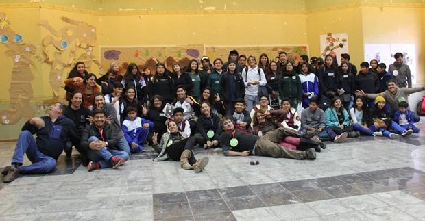 Más de 60 niños, niñas y jóvenes participaron de Escucha Creativa en Calama