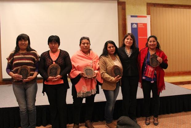 Entrega reconocimiento por parte del Consejo de la Cultura de Antofagasta
