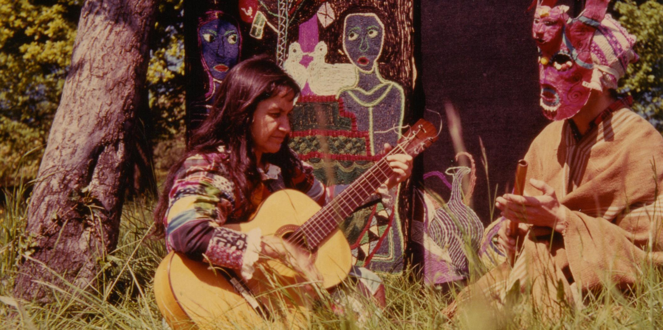 Fotografía gentileza Fundación Violeta Parra y Fundación Museo Violeta Parra