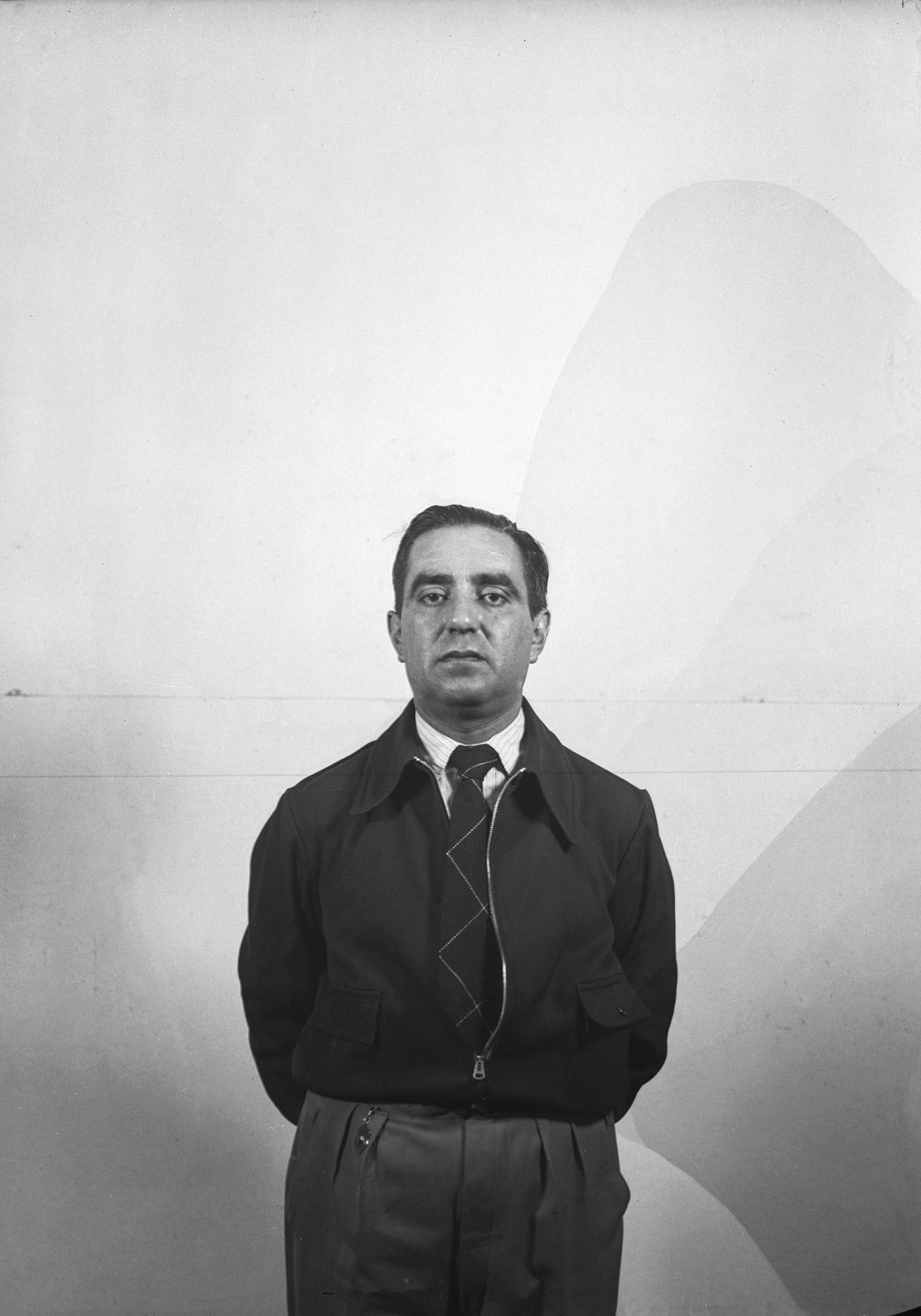 Autorretrato. Antonio Quintana