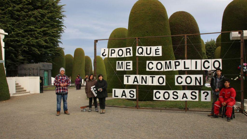 Foto: Proyecto Pregunta. Intervención del colectivo Mil M2
