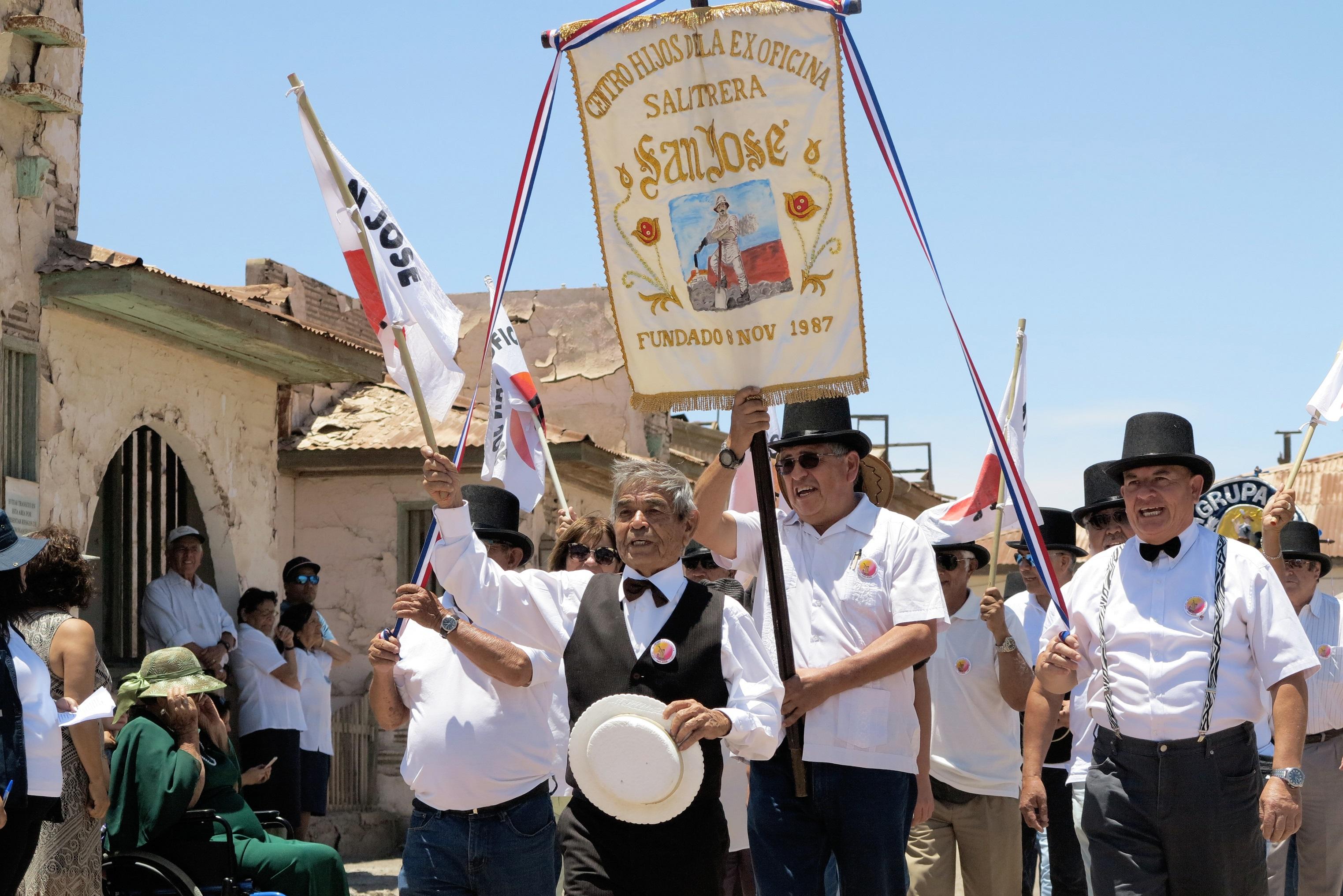 Celebración de la Semana del Salitre / Foto: Anyelina Rojas