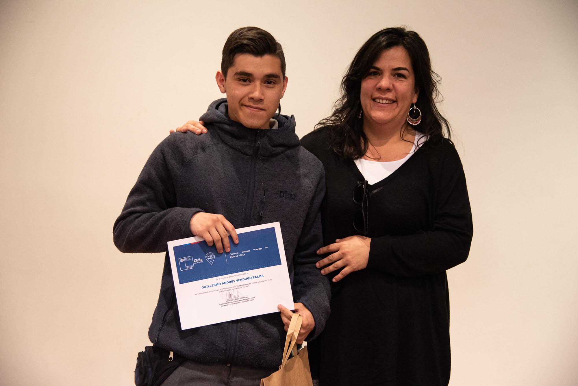 Ganador Guillermo Verdugo