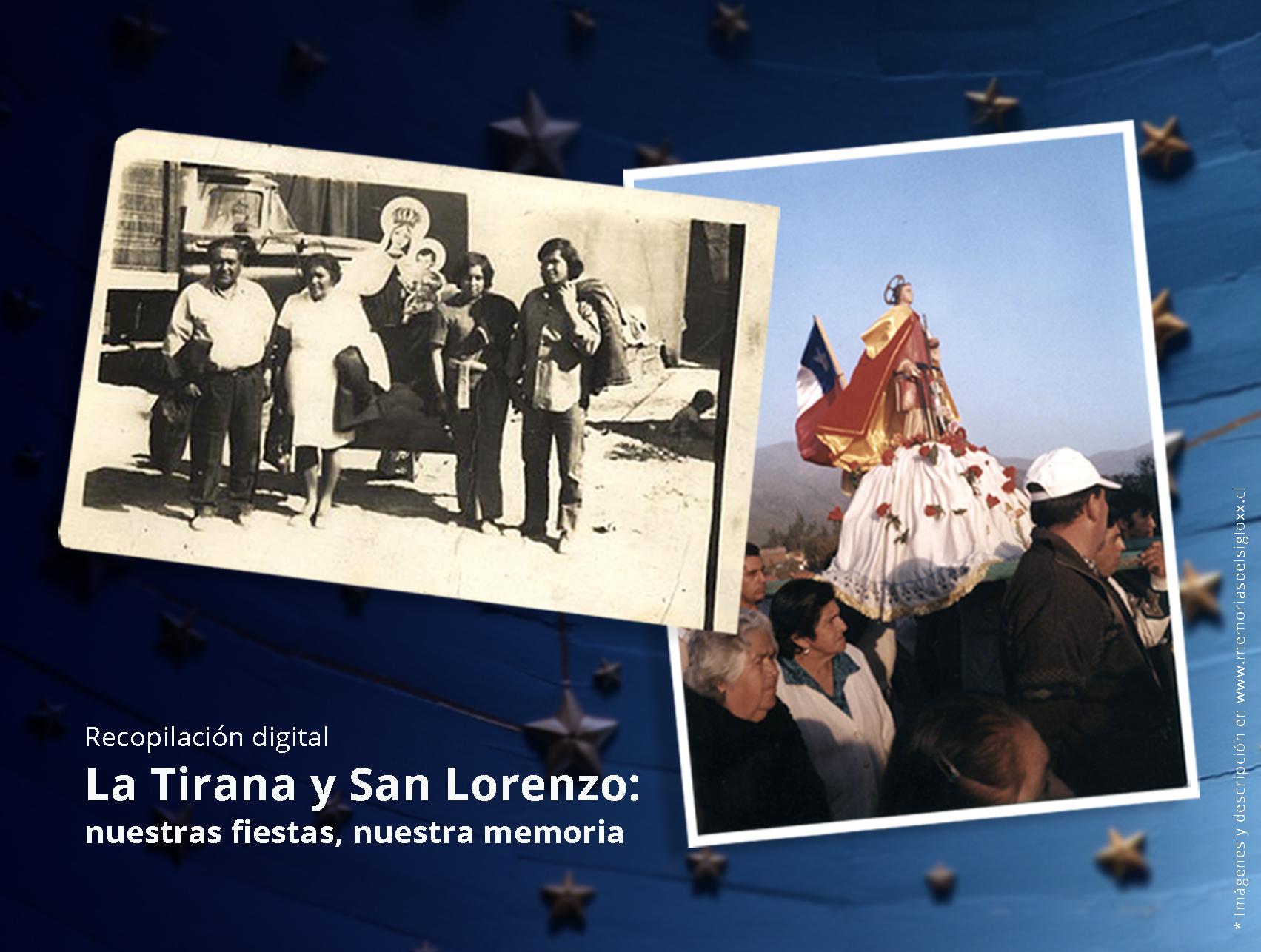 """Participa en el proceso de recopilación digital """"La Tirana y San Lorenzo: nuestras fiestas, nuestra memoria"""", convocatoria del Servicio Nacional del Patrimonio Cultural"""