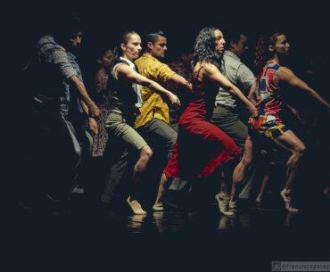 Obra De la Tierra al Viento de Claude Brumachon - Cia Danza Espiral / Crédito Francisco Pavez. Facultad de Artes UAHC