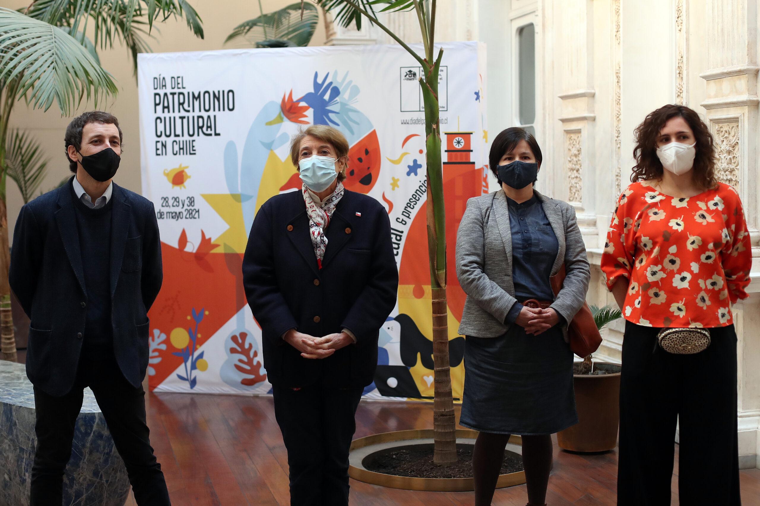 Ministerio de las Culturas lanza el Día del Patrimonio Cultural 2021 con inscripción de actividades y recorridos virtuales