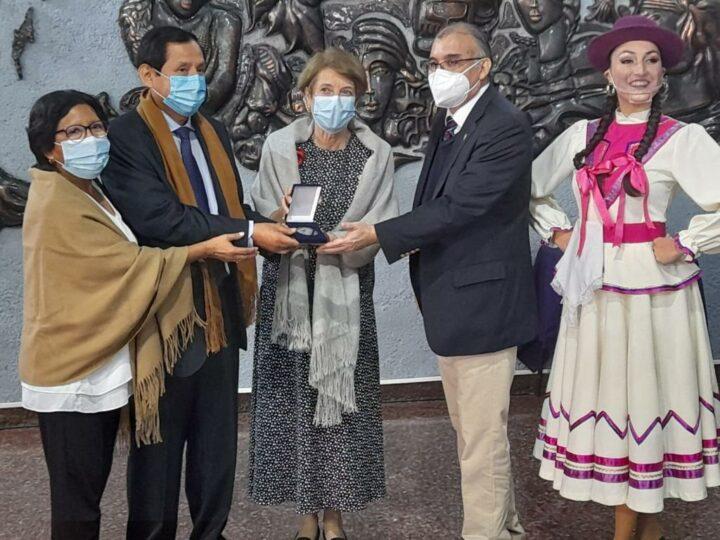 Orden al Mérito póstuma Manuel Mamani - Fotos: Gustavo del Canto/Ministerio de las Culturas