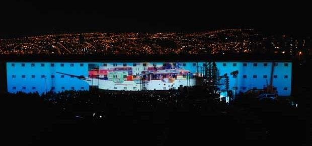 Festival de las Artes Valparaíso - mapping