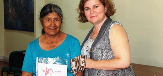 Dominga Mamani, Sello de Excelencia Tarapacá 2012