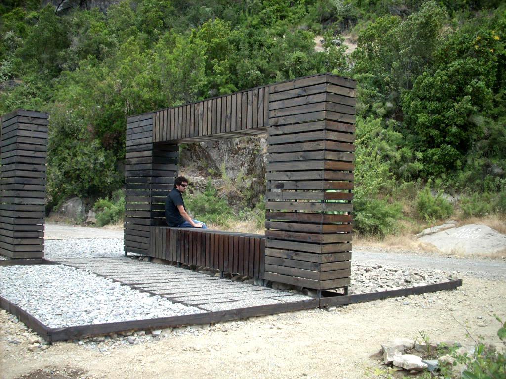 4 . Parador de contaminación. Autor Cesar Verdugo