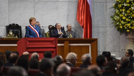Presidenta Bachelet realiza cuenta publica 2016