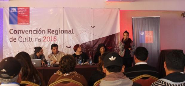 Directora Regional, Carla Redlich, en Convención de Cultura