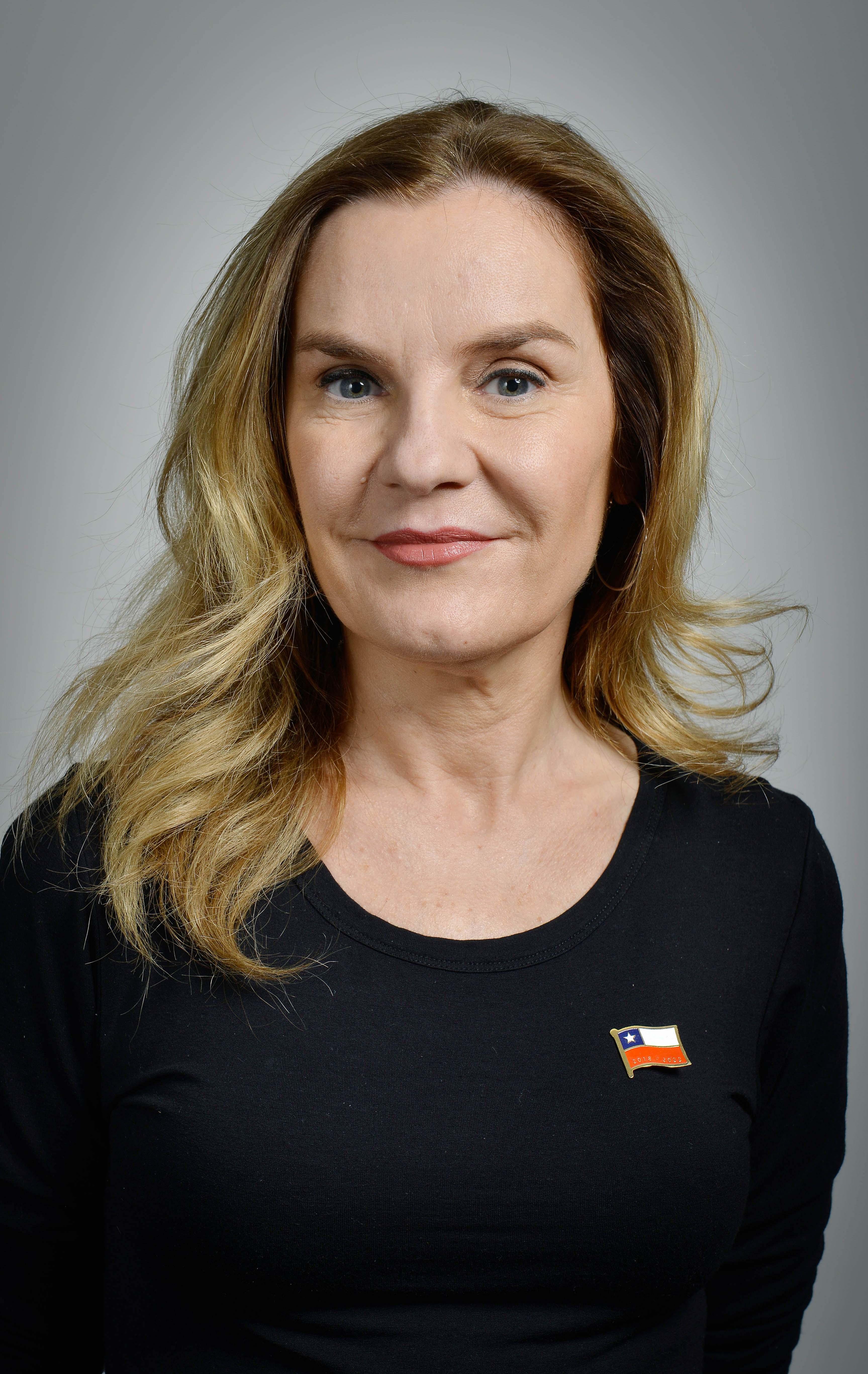 Ministra Alejandra Pérez Lecaros